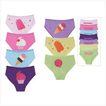 KID`S 7DAYS UNDERWEAR SIZE 8