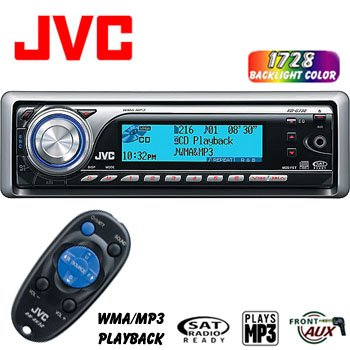 JVC AM/FM CD RECEIVER KD-G730