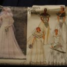1985 Vogue WEDDING DRESS pattern 1511 size 12 Out of Print FREE US SHIPPING