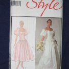 VTG Carolina Herrera WEDDING DRESS pattern Style 1410 size 18 FREE US SHIPPING