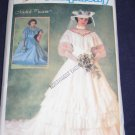 """1984 """"Southern Belle"""" WEDDING DRESS pattern Simplicity 6765 size 12 out of print FREE US SHIPPING"""