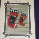 "VTg ""I.M. Dear"" quilted christmas stocking pattern FREE US SHIPPING"