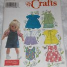 "Simplicity 7688 doll clothes pattern for 18"" doll FREE US SHIPPING"