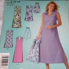 Simplicity 4115 easy summer dress and bag Size A 10-18 uncut FREE US SHIPPING