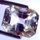 6.60 Ct Unheated Untreated Natural Ceylon White Sapphire Gems