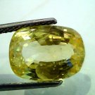 8.93 Ct Unheated Untreated Natural Ceylon Yellow Sapphire