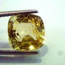 6.30 Ct Unheated Natural Ceylon Yellow Sapphire/Pukhraj AA++