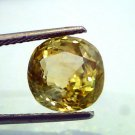 6.95 Ct Unheated Untreted Natural Ceylon Yellow Sapphire/Pukhraj