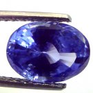 5.06 Ct Untreated Top Cut/Colour Natural Ceylon Blue Sapphire AA