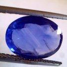 3.90 Ct Unheat Untreat Natural Ceylon Blue Sapphire Neelam Gems