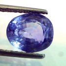 3.83 Ct Unheated Untreated Natural Ceylon Blue Sapphire,Neelam