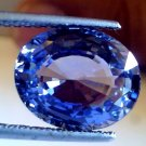 8.29 Ct Top Grade Untreated Natural Ceylon Blue Sapphire AAAA GII Certified