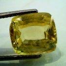 Huge GII Certified 11.17 Ct Unheated Untreated Natural Ceylon Yellow Sapphire