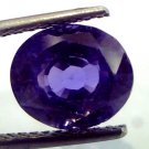 "6.19 Ct IGI Certified Unheated Natural Madagaskar Blue Sapphire  ""CERTIFIED"""