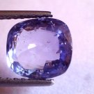 "5.14 Ct Unheated Untreated Natural Ceylon Blue Sapphire Gemstone ""CERTIFIED"""
