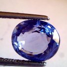 "4.64 Ct Unheated Untreated Natural Ceylon Blue sapphire Neelam ""CERTIFIED"""