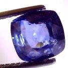 "4.62 Ct Untreated Natural Ceylon Blue Sapphire Neelam Gemstone ""CERTIFIED"""