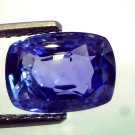 "4.51 Ct Unheated Untreated Natural Ceylon Blue Sapphire AAAAA ""CERTIFIED"""