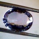 4.30 Ct Unheat Untreat Natural Ceylon Blue Sapphire Neelam Gems CERTIFIED