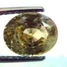 6.51 Ct Unheated Untreated Natural Ceylon Yellow Sapphire Pukhraj
