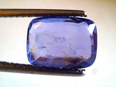 4.5 Ct Untreated Natural Ceylon Blue Sapphire Neelam Gemstone