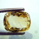 4.05 Ct Unheated Untreated Natural Ceylon Yellow Sapphire A++