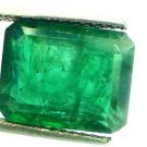 9.69 Ct Untreated Natural Zambian Emerald Premium Green AAA