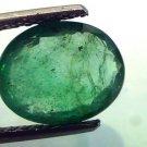 3.69 Ct Untreated  Unheated Natural Zambian Emerald Gemstone