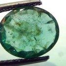 3.19 Ct Untreated  Unheated Natural Zambian Emerald Gemstone