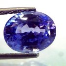 5.85 Ct IGI Certified Unheated Untreated Natural Ceylon Blue Sapphire AAA