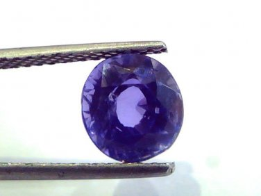 3.22 Ct IGI Certified Untreated Unheated Natural Ceylon Blue Sapphire