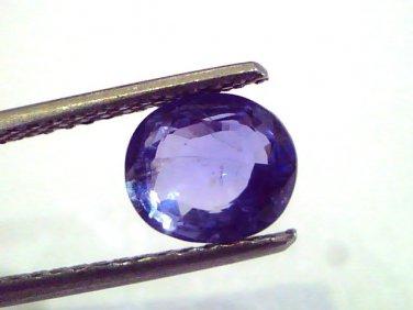 2.27 Ct Unheated Untreated Natural Ceylon Blue Sapphire Neelam