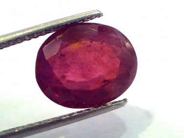 8.06 Ct Natural Ruby Gemstone Manek Gem for Sun (Heated)