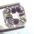 6.66 Ct Unheated Untreated Natural Premium White Sapphire Gemstone