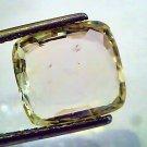 7.08 Ct 11 Ratti Unheated Untreated Natural Ceylon Yellow Sapphire