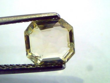 1.83 Ct Unheated Untreated Natural Ceylon Yellow Sapphire/Pukhraj