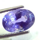 6.47 Ct Unheated Untreated Natural Ceylon Blue Sapphire Neelam