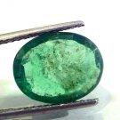 6.26 Ct Unheated Untreated Natural Zambian Emerald Panna Gems