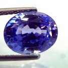 5.85 Ct IGI Certified Untreated Natural Ceylon Blue Sapphire AAA