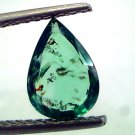 1.47 Ct Unheated Untreated Natural Zambian Emerald Panna Gemstones