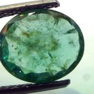 3.19 Ct Unheated Untreated Natural Zambian Emerald Panna Gemtone
