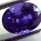 6.54 Ct Royal Blue Unheated Untreated Natural Ceylon Blue Sapphire AA