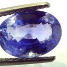 5.83 Ct Unheated Untreated Natural BURMA Blue Sapphire Neelam