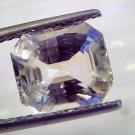 5.95 Ct Unheated Untreated Natural Ceylon White Sapphire Gems
