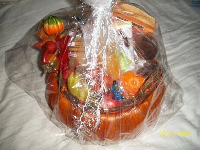 Autumn Harvest Gift Basket - Sugar