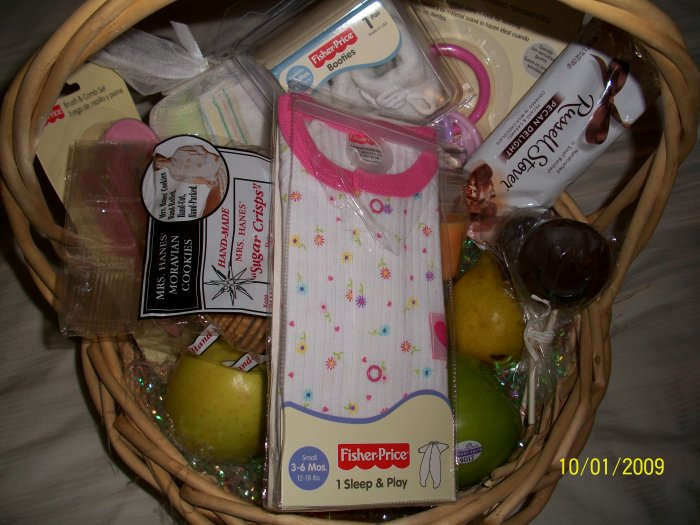 Premium Baby Girl New Arrival Basket