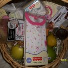 Baby Girl New Arrival Basket