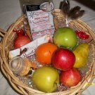 Fruit & Cookie Basket