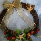 Wreath - Grapevine - Starfish