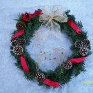 Wreath - Deer & Cardnial - Gold